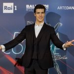 Roberto Bolle presenting the new edition of Danza con me 1