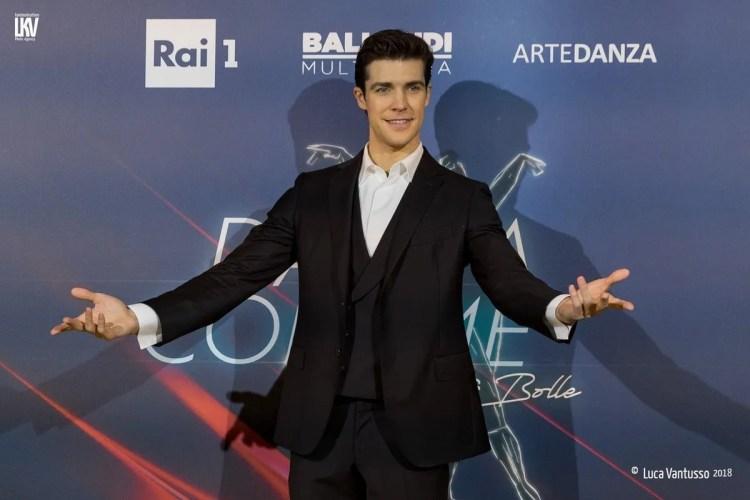 Roberto Bolle presenting the new edition of Danza con me 1