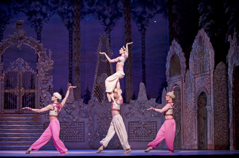 The Nutcracker. Artists of The Royal Ballet in Arabian Dance. ROH 2013. Ph Tristram Kenton