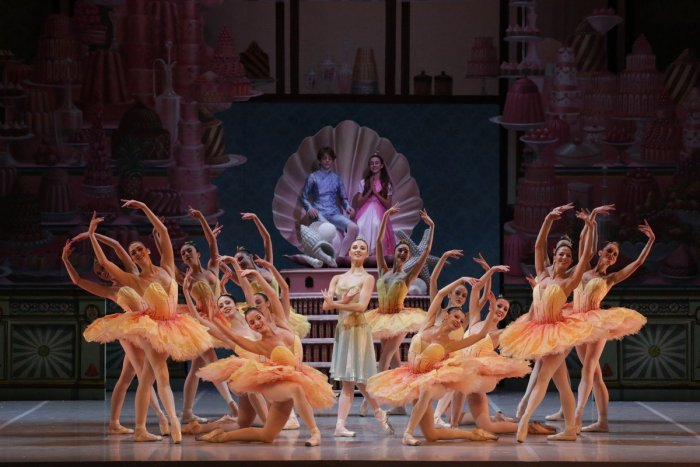 George Balanchine's The Nutcracker®, Martina Arduino as Dewdrop, photo by Brescia e Amisano, Teatro alla Scala 2018