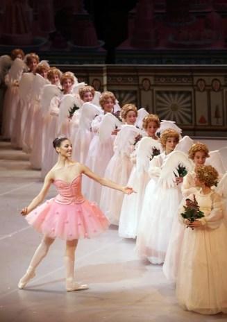 George Balanchine's The Nutcracker®, Martina Arduino as the Sugarplum Fairy, photo by Brescia e Amisano, Teatro alla Scala 2018