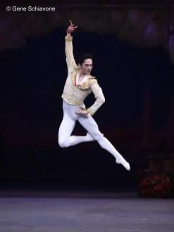 Jeffrey Cirio as Basilio with the American Ballet Theatre, photo by Gene Schiavone