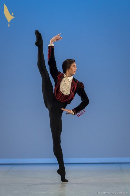 416 FIGUEREDO Gabriel, Prix de Lausanne 2019, photo by Gregory Batardon 0136