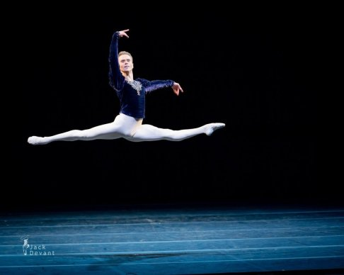 Leonid Sarafanov, Grand Pas Classique, photo by Jack Devant