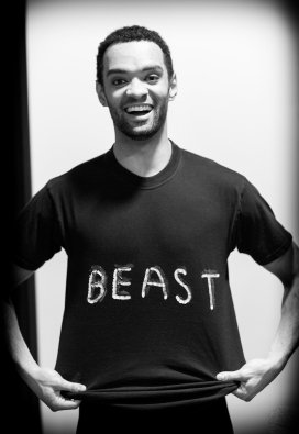 Brandon Lawrence as the The Beast in Beauty and the Beast, Birmingham Royal Ballet © Dasa Wharton 23