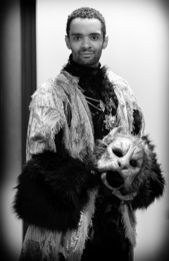 Brandon Lawrence as the The Beast in Beauty and the Beast, Birmingham Royal Ballet © Dasa Wharton 40