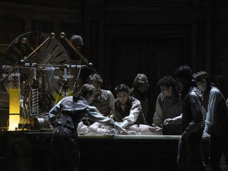 Frankenstein. Artists of The Royal Ballet. ©ROH 2019. Photographed by Andrej Uspenski