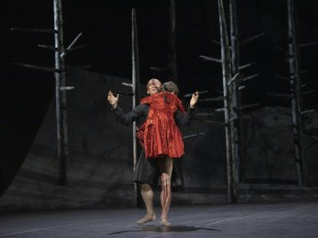 Frankenstein. Wei Wang as The Creature. ©ROH 2019. Photographed by Andrej Uspenski 01