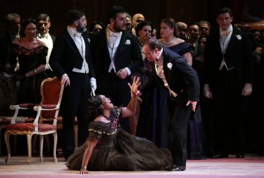La traviata, Teatro alla Scala, 2019 Angel Blue and Francesco Meli