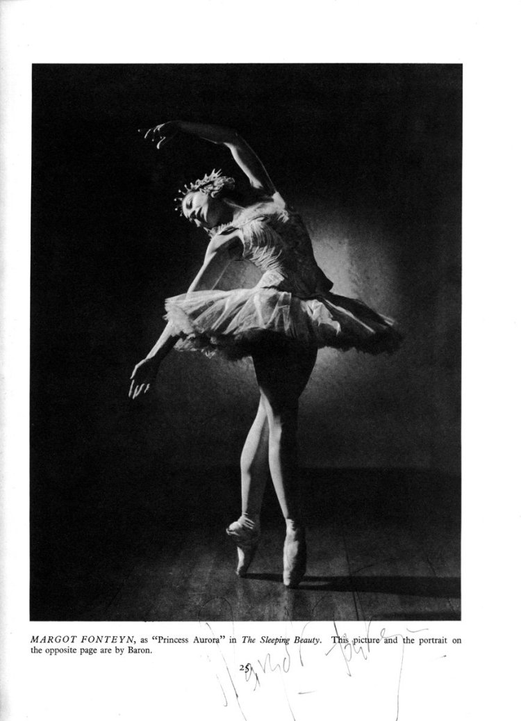 Margot Fonteyn by Baron for the 1946 47 Royal Ballet Season Brochure 2