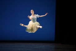 Emilia Cadorin performing Coppélia © Laurent Liotardo