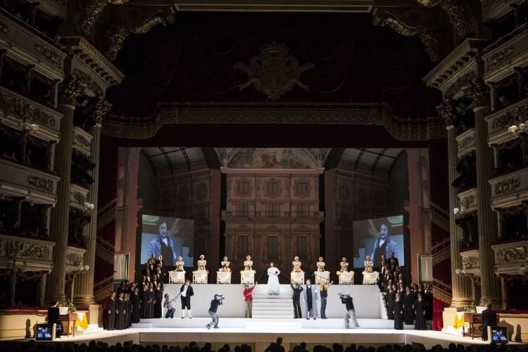 Il viaggio a Reims, photo Brescia e Amisano, Teatro alla Scala
