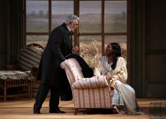 La traviata at Teatro alla Scala 2019 with Angel Blue and Placido Domingo, photo by Brescia e Amisano