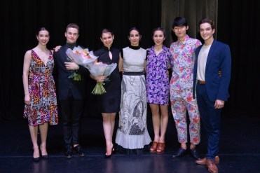 The Emerging Dancer finalists with Artistic Director Tamara Rojo © Photography by ASH