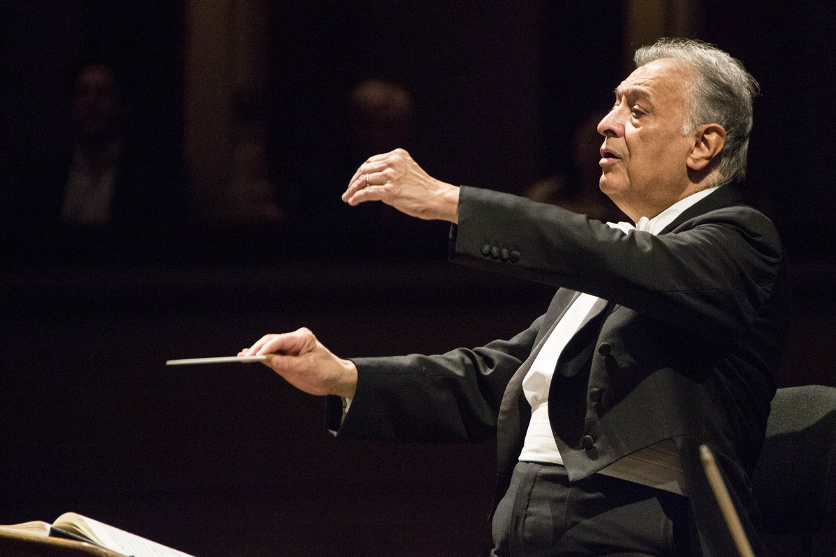 Zubin Mehta, photo Brescia e Amisano