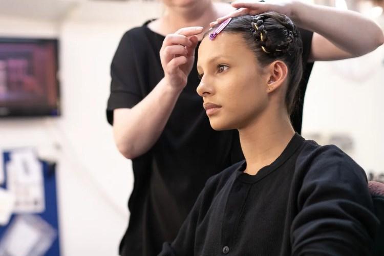 01 Francesca Hayward, makeup and hair, Romeo and Juliet © Dasa Wharton