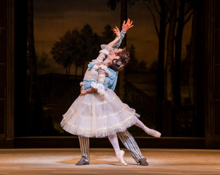 A Month in the Country. Marianela Nunez and Matthew Ball. ©ROH, 2019. Photo by Tristram Kenton