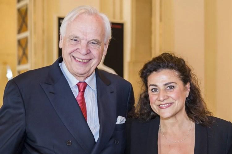 Cecilia Bartoli and Alexander Pereira announce the Handel opera project © Marco Brescia, Teatro alla Scala 2018