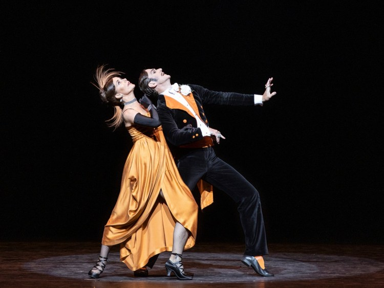 Darcey Bussell, Gary Avis in Fascade, photo Andrej Uspenski ROH
