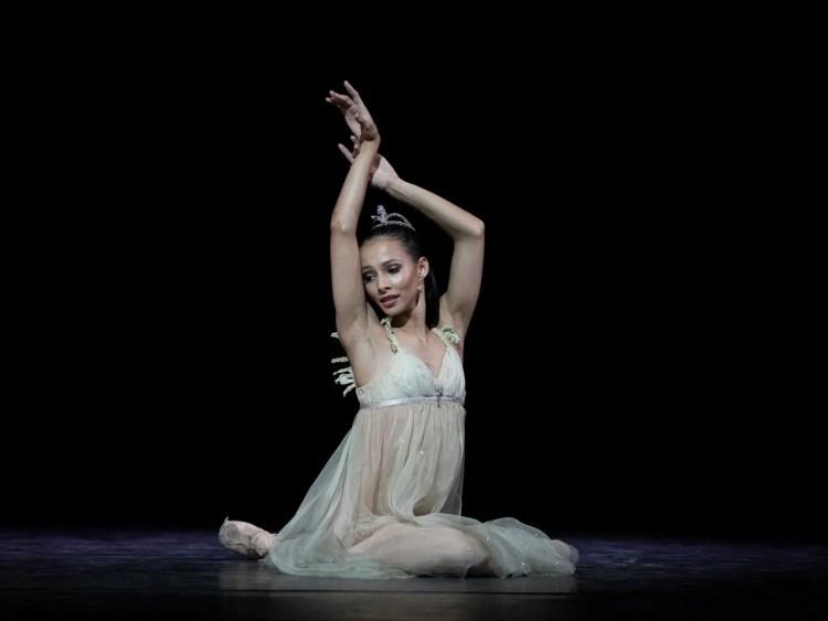 Francesca Hayward in Ondine, photo Andrej Uspenski ROH