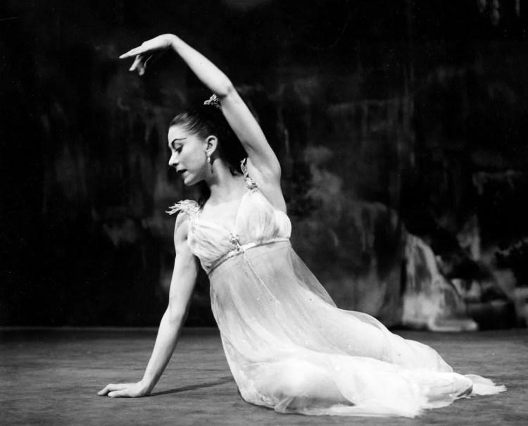 Margot Fonteyn as Ondine 1958 Photo Roger Wood