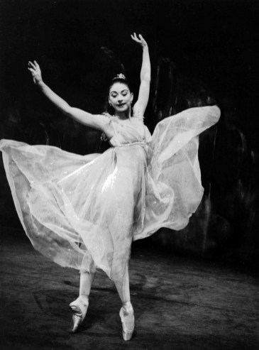 Margot Fonteyn as Ondine in The Royal Ballet production of 'Ondi