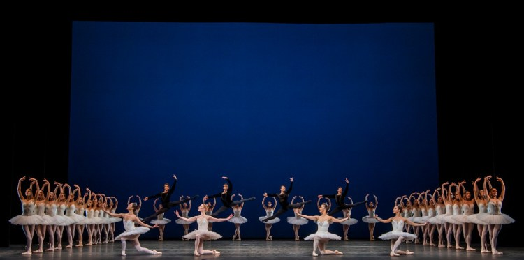 Symphony in C. Artists of The Royal Ballet. ©ROH, 2019. Photo by Tristram Kenton (3)