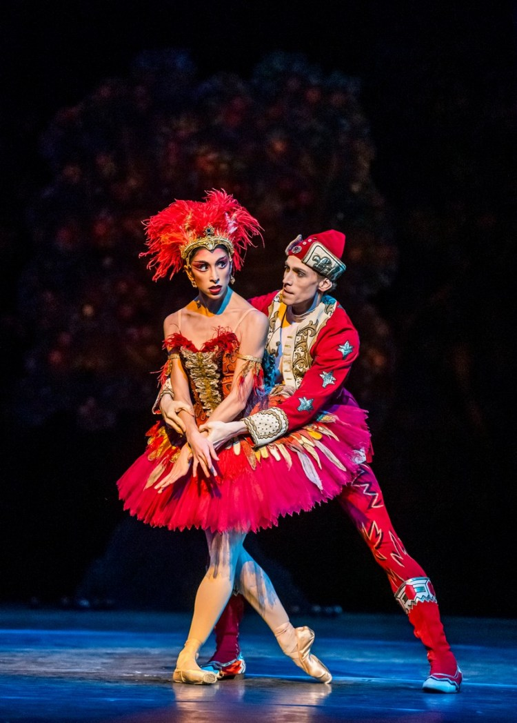 The Firebird. Yasmine Naghdi and Edward Watson. ©ROH, 2019. Photo by Tristram Kenton