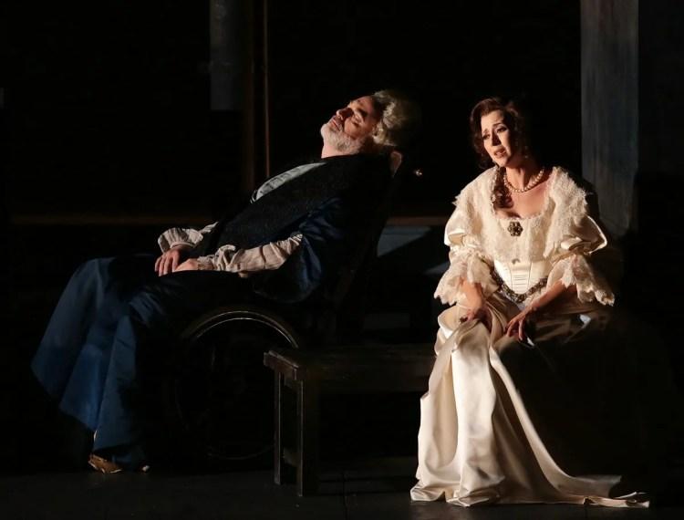 12 I masnadieri, Michele Pertusi e Lisette Oropesa, photo Brescia e Amisano, Teatro alla Scala 2019