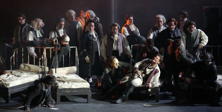 16 I masnadieri, photo Brescia e Amisano, Teatro alla Scala 2019