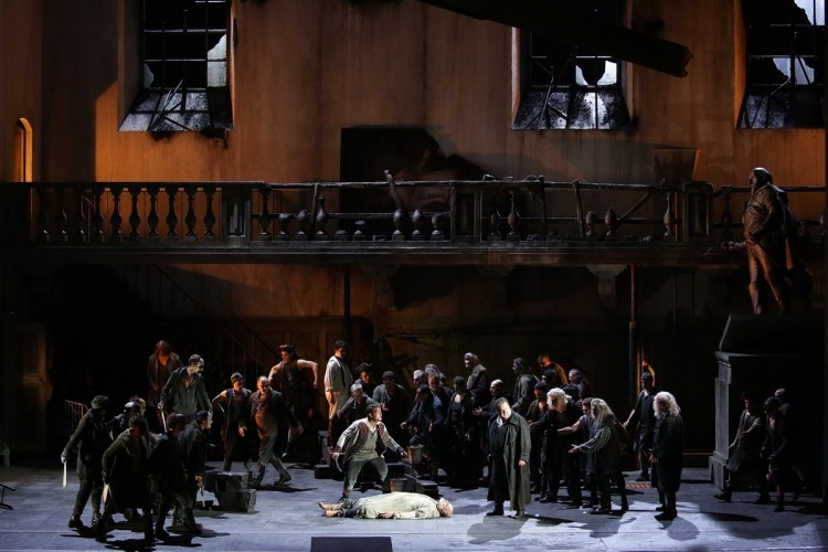 21 I masnadieri, photo Brescia e Amisano, Teatro alla Scala 2019