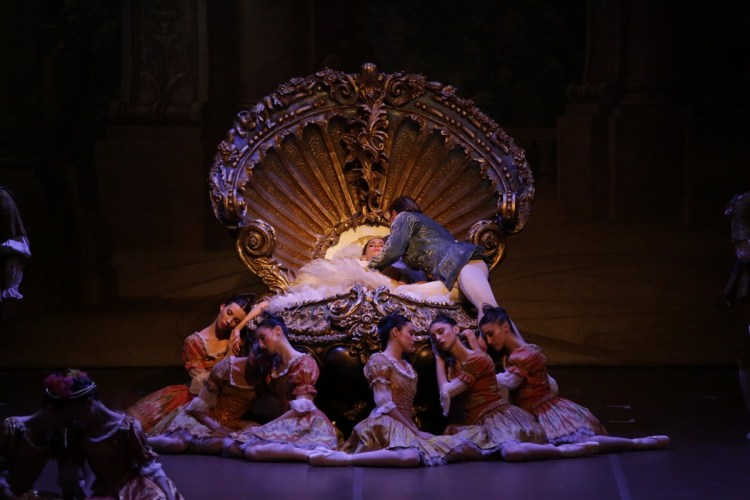 28 The Sleeping Beauty, with Polina Semionova with Timofej Andrijashenko