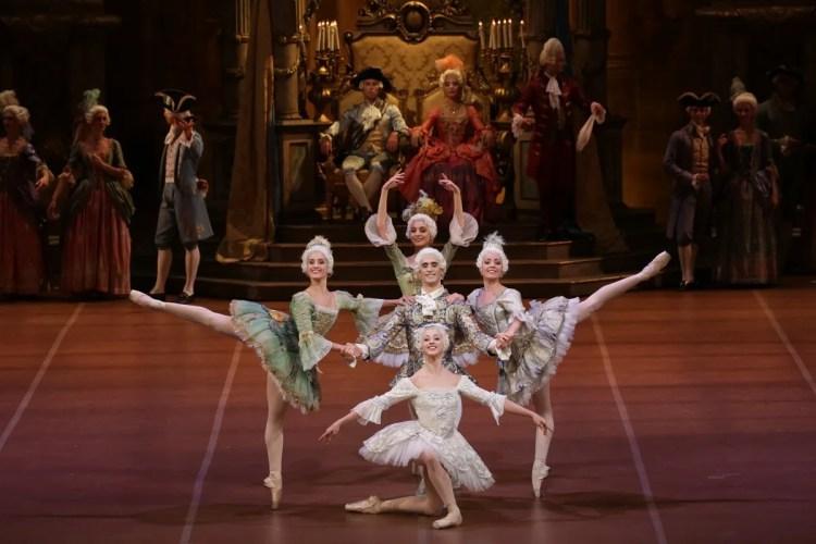 35 The Sleeping Beauty, with Virna Toppi Nicola, Del Freo, Alessandra Vassallo, Gaia Andreanò and Caterina Bianchi