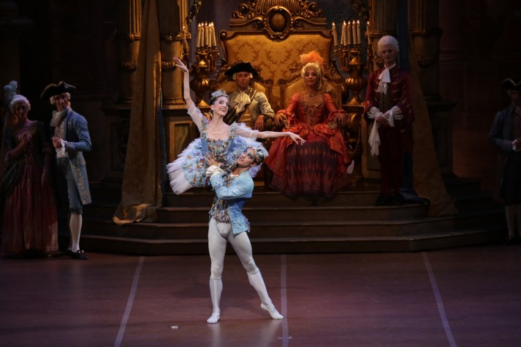 38 The Sleeping Beauty, with Vittoria Valerio and Claudio Coviello