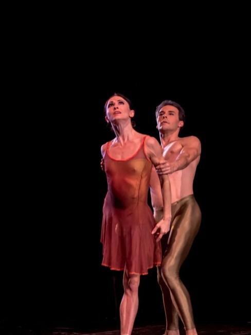 Anna Tsygankova with Jozef Varga in Duet © Graham Spicer