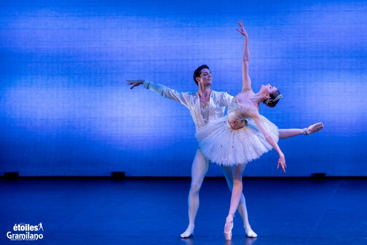 Diamonds (from Balanchine's Jewels) with Alena Kovaleva and Jacopo Tissi © Graham Spicer, Daniele Cipriani Entertainment 6