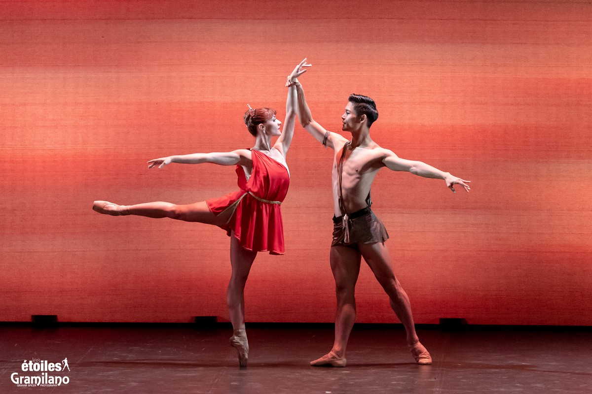 Diana and Actaeon with Rebecca Storani and Young Gyu Choi © Graham Spicer, Daniele Cipriani Entertainment 1