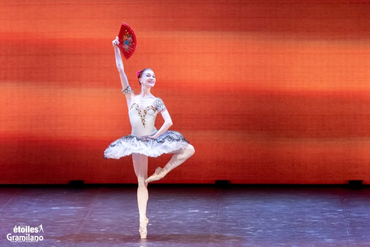 Don Quixote (pas de deux, Act III) with with Tatiana Melnik and Bakhtiyar Adamzhan © Graham Spicer, Daniele Cipriani Entertainment 4