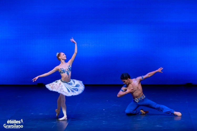 Le Corsaire (pas de deux Act II) with Tatiana Melnik and Bakhtiyar Adamzhan © Graham Spicer, Daniele Cipriani Entertainment 4