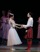 Curtain call for Shale Wagman and Olesya Novikova, photo by Catherine Pollak