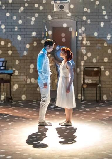 Matthew Bourne, Romeo and Juliet, Romeo (Paris Fitzpatrick) and Juliet (Cordelia Braithwaite)