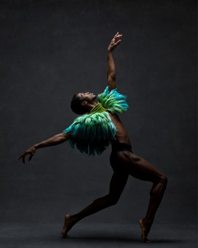 Calvin Royal III, Soloist, American Ballet Theatre Vintage cape by Dior, courtesy New York Vintage 01 © Ken Browar and Deborah Ory