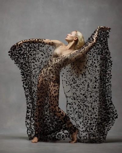 Charlotte Landreau, Soloist, Martha Graham Dance Company Clothing by Iris Van Herpen © Ken Browar and Deborah Ory