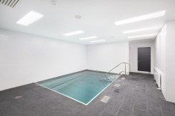 English National Ballet's new home on London City Island hydrotherapy pool © Michael Molloy