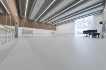 English National Ballet's new home on London City Island rehearsal studio © Michael Molloy 02