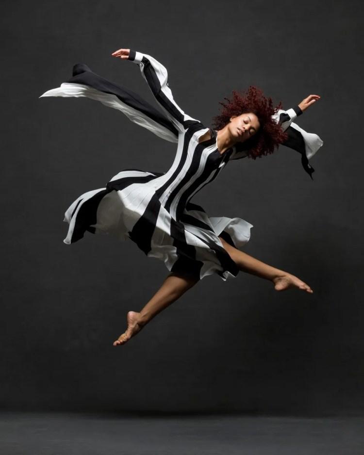 Fana Tesfagiorgis, Alvin Ailey American Dance Theater Clothing by Monse © Ken Browar and Deborah Ory