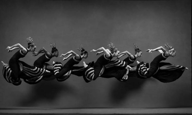 Martha Graham Dance Company Costumes by Martha Graham for Night Journey © Ken Browar and Deborah Ory