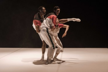 Diego Tortelli's Shifting Perspective with Corey Scott Gilbert, Cristian Cucco and Jin Young Won, photo Franz Kimmel