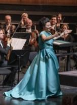 Hui He after a concert performance of Adriana Lecouvreur © Salzburg Festival, Marco Borrelli