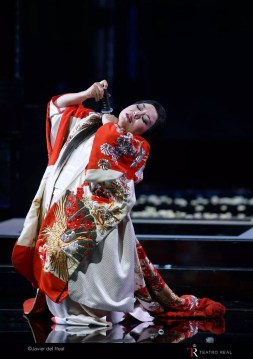 Hui He as Madama Butterfly, Teatro Real Madrid, 2017
